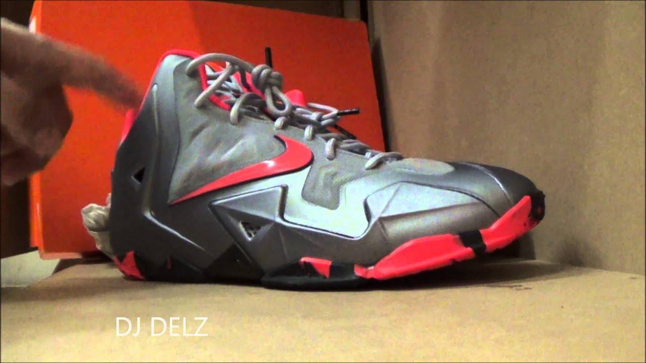 5941da116bc0 Nike Lebron 11 Team GS Sneaker Review - YouTube