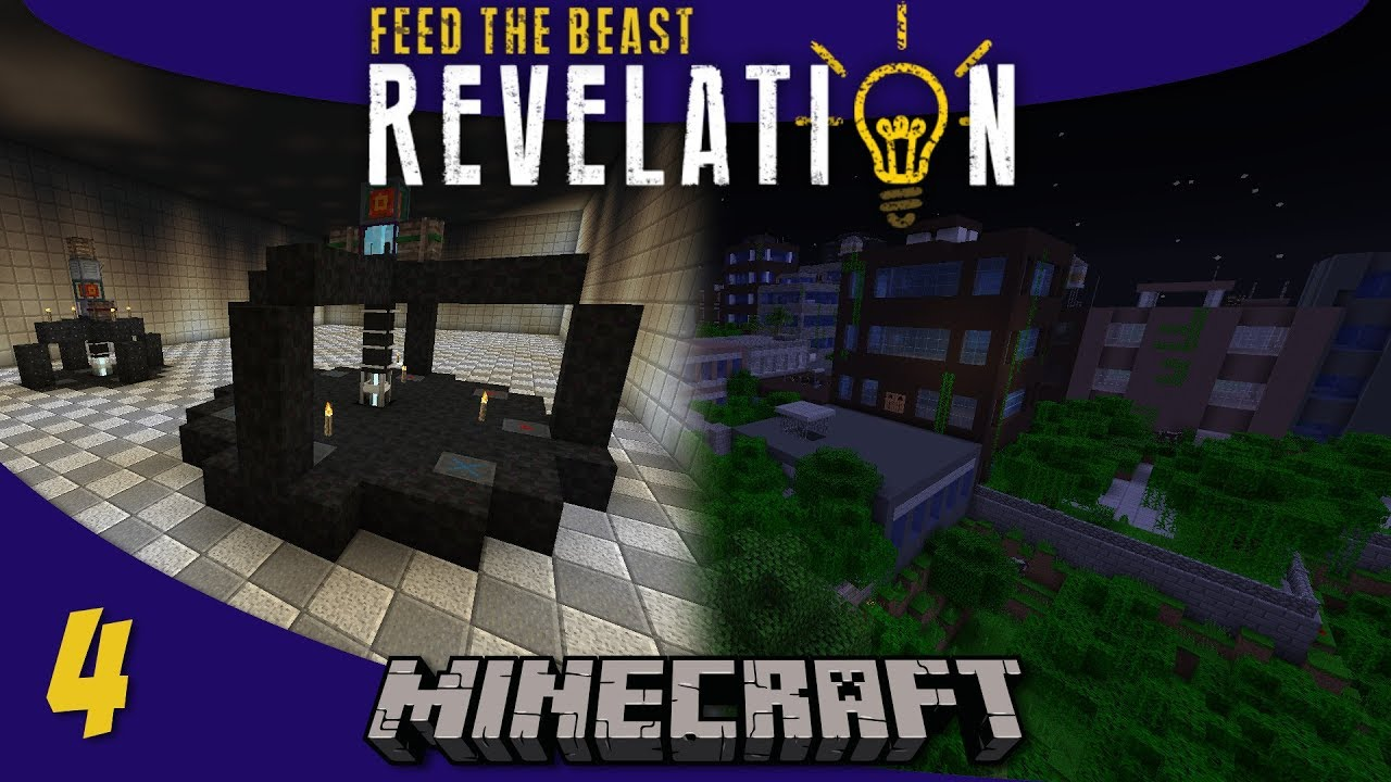 Tier 3 Solar Array, Void Resource Miner, Lost Cities: 1 12 Modded Minecraft  FTB Revelation SMP : E04