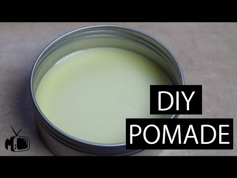 DIY Pomade I Make your own Hair Product