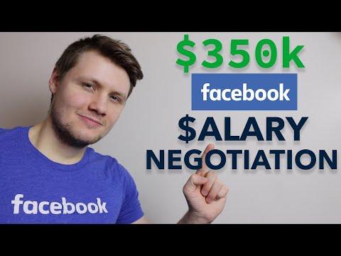 How I Negotiated My $350k Facebook Offer (software Engineer Salary Negotiation)