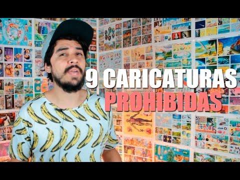 9 CAPÍTULOS DE CARICATURAS QUE PROHIBIERON | BANAZMX