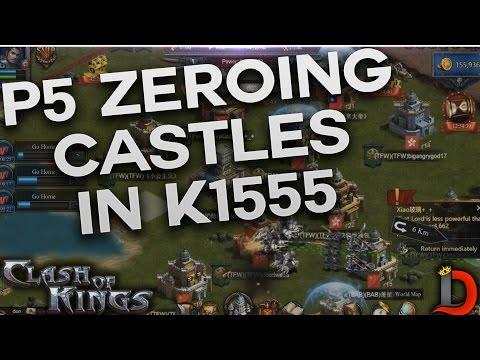 PRESTIGE 5 ZEROING CASTLES IN K1555 (CLASH OF KINGS)