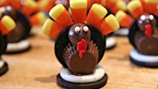 Thanksgiving Desserts Ideas Easy | Oreo Turkeys Treats