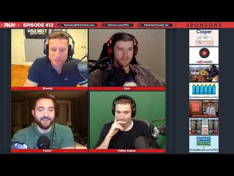 PKA 412 w/ Filthy Robot - Fitness Scoreboard, Bullet Ant Gloves, Uber Driver in Trouble