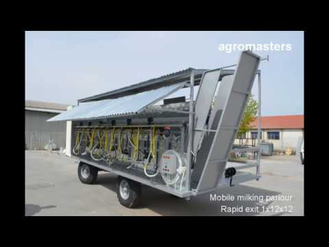Agromasters - Milking Parlors & Barn Equipment (Sheep & Goats)