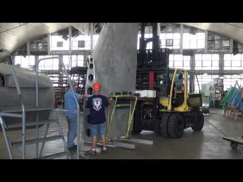 B-17F Memphis Belle® Vertical Stabilizer Installation