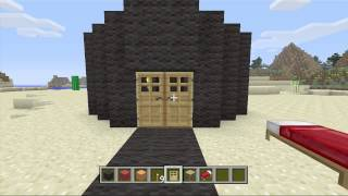 minecraft How to build the eye of souron from LOTR