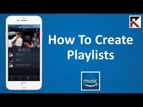 How To Create Playlists Amazon Music