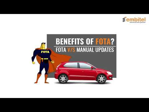 FOTA for Automotive | OTA Updates for IoT | Over-The-Air