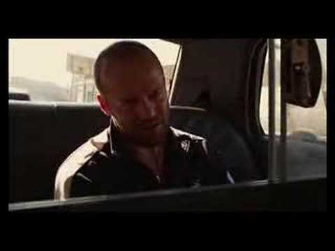 Crank - Jason Statham Taxi Ride (Plant Shit)