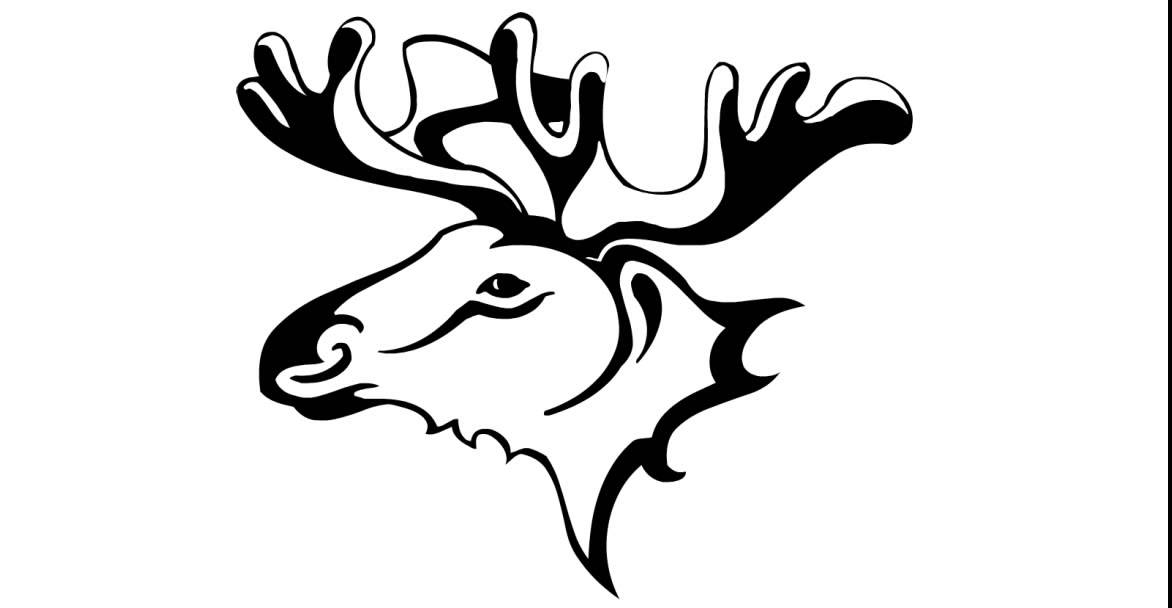 Draw a tattoo # wild moose 045 - YouTube