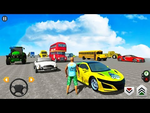 Impossible Mega Ramp 2020 - Multiplayer Mode 8 Player Race - Android iOS Gameplay