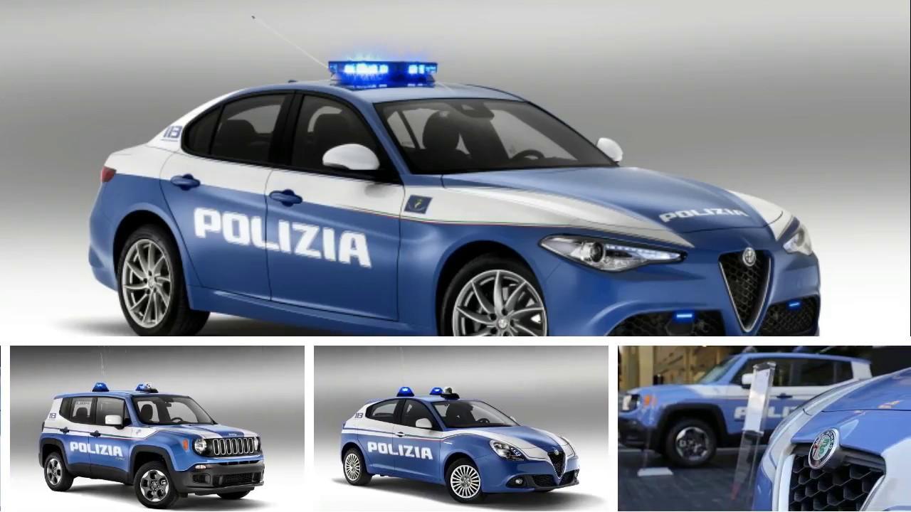 Fca Italian Police Cars Fiat