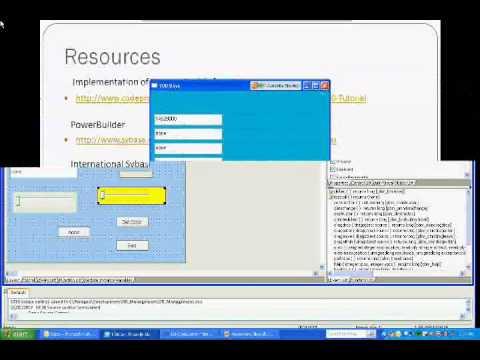 Adding .Net Visual controls to PB Classic Applications