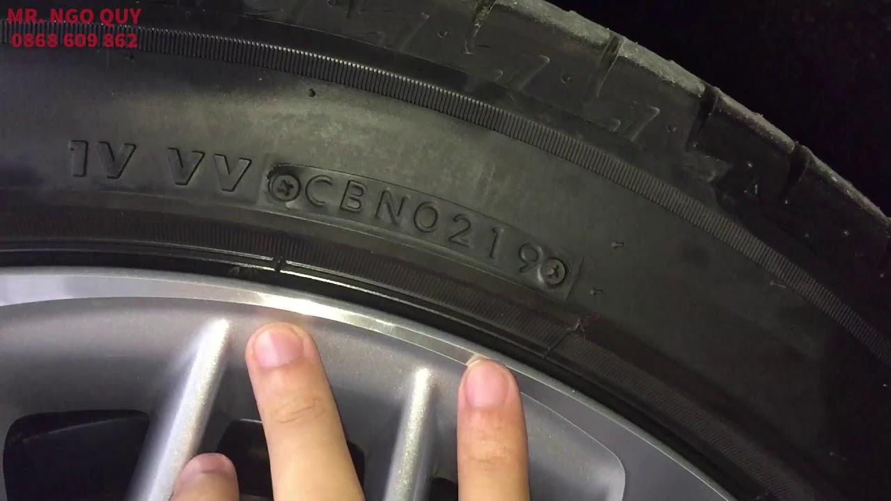 Cách đọc THÔNG SỐ KỸ THUẬT lốp xe Ô TÔ cơ bản | Ví dụ lốp xe Toyota Camry 2.5Q 2019