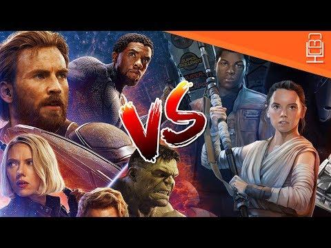 Will Avengers Infinity War Take down Star Wars TFA Box Office Record