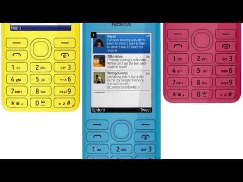 Nokia 206 (tuote: 689071,689075, 689079, 689080, 689081)