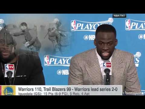 Draymond Green has a flashback