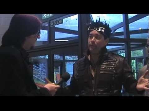 Whitby Goth Weekend ABNEY PARK Vox Pop Interview Steampunk NOV 2011