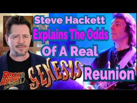 Steve Hackett Shares The Odds Of Getting A Call For Genesis Reunion