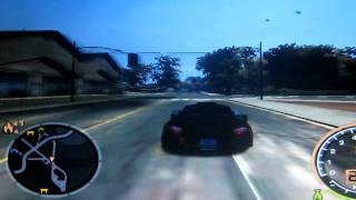 Gameplay Need for Speed Most Wanted + intel Gma 3150 Intel Atom