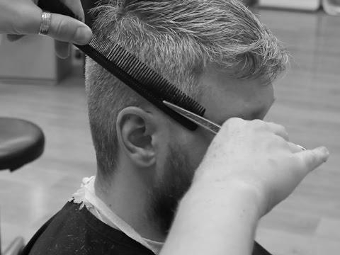 Как сделать мужскую стрижку в домашних условиях ножницами видео