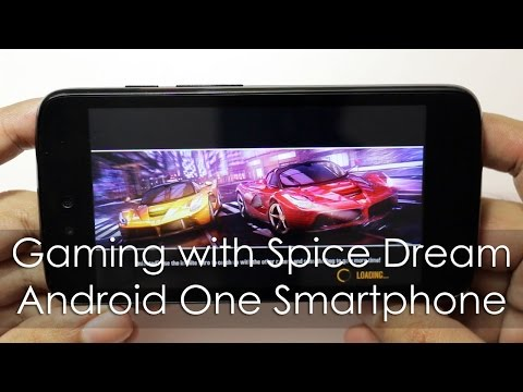 Gaming with Android One Budget Phone Spice Dream Uno Gaming Review