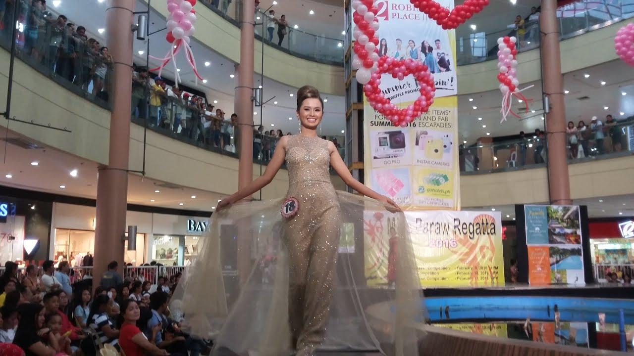 Beautiful Filipinas 2016 Miss Iloilo Paraw Regatta Evening Gown