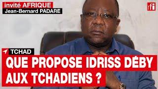 Tchad - Jean-Bernard Padaré, responsable de communication de la campagne d'Idriss Déby Itno