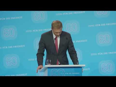 Christian Lindner über die Friedrich-Naumann-Stiftung für die Freiheit/ about