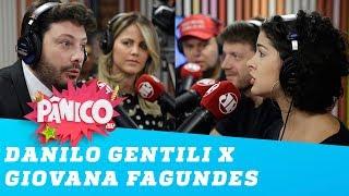 A TRETA entre Danilo Gentili e Giovana Fagundes!