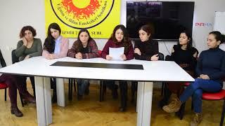 İzmir Kadın Platformu kadın buluşmasına çağrıda bulundu: Gelin dayanışmayı büyütelim