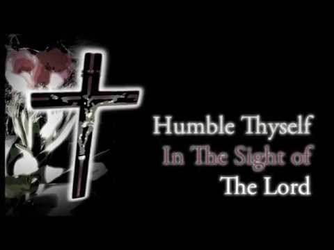 Humble Thyself In The Sight Of The Lord by Bob Hudson (Lyrics)