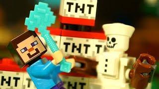 ЛЕГО НУБик ⛄️ СНЕГОВИК Майнкрафт Смешные Мультики для Детей LEGO Minecraft Мультфильмы