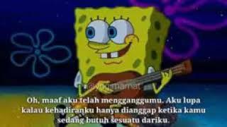 Kocak abis spongebob ber nyanyi  penghianat bangsad