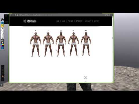 Aesthetic Smith Enzo mesh male body by Hydrogen Excelsior July 2017