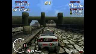 Sega Rally 2 -  PC Gameplay