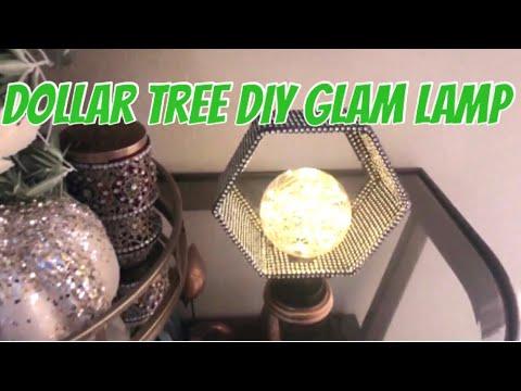 Dollar Tree DIY| Glam Lamp Elegant Table Lamp