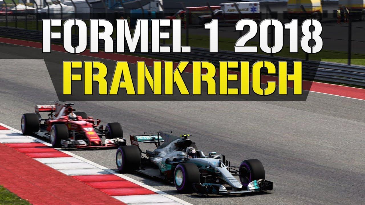 Formel 1 Erwe Großer Preis Von Frankreich 2018 Einstimmung Aufs