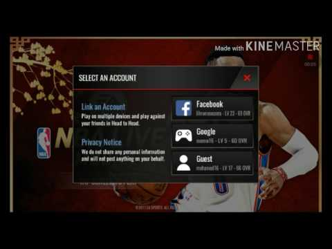 How to enable the switch button nba live mobile