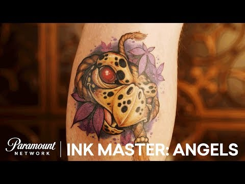 Showdown In Charlotte: Elimination Tattoo Sneak Peek   Ink Master: Angels (Season 2)