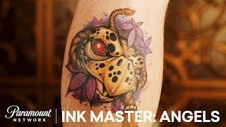 Showdown in Charlotte: Elimination Tattoo Sneak Peek | Ink Master: Angels (Season 2)