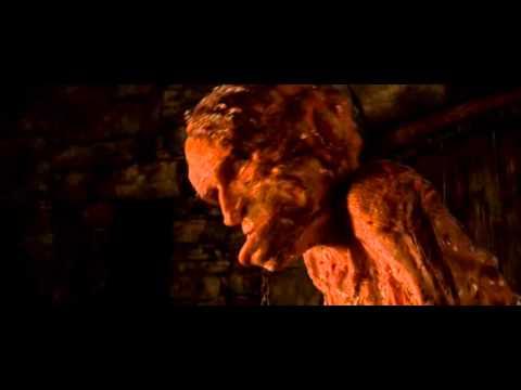 Beowulf, Grendel eats a warrior's head