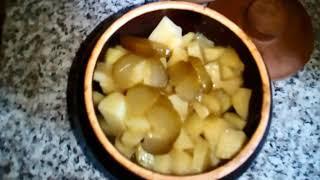 Рецепт мяса в горшочках с грибами и картошкой в духовке