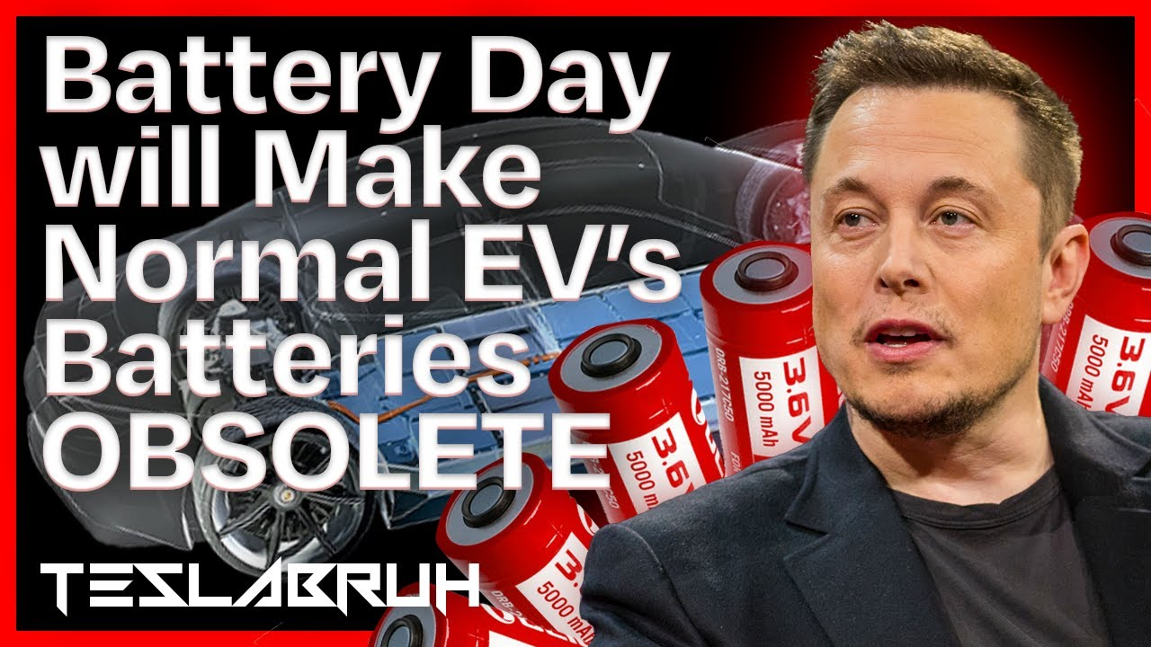 Elon's Battery Day will Make Normal Electric Car Batteries OBSOLETE - Here's Why