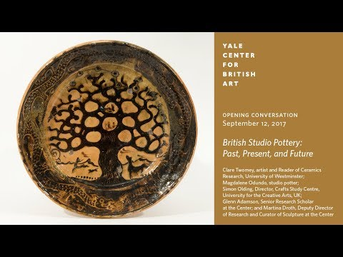 Exhibition Opening Conversation  British Studio Pottery: Past Present and Future
