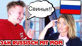 ICH rede 24H NUR RUSSISCH mit meiner MOM 😳🇷🇺