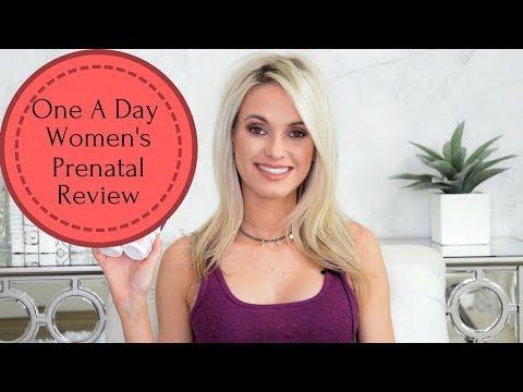 One A Day Women's Prenatal Review