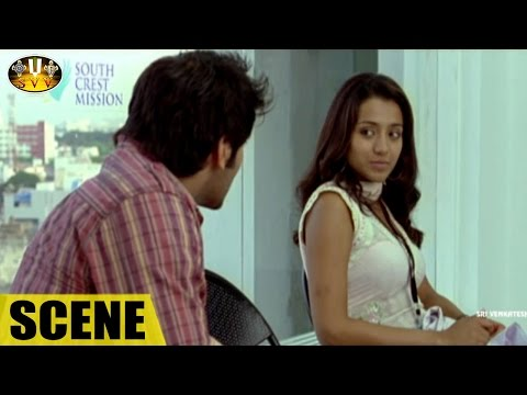 Comedy Scene Between Trisha & Arya || Sarvam Movie || Trisha