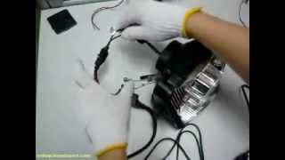 motorcycle hid projector installation guide motorcycle headlight retrofit kt mt5
